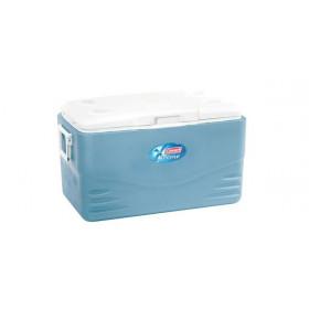 Coleman Xtreme 52QT borsa frigo Blu, Bianco 49 L