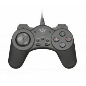 Trust GXT 510 TEBUR Gamepad PC Nero