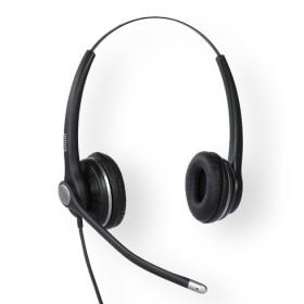 Snom A100D Stereofonico Padiglione auricolare Nero