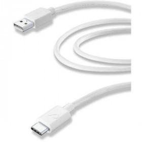 Vivanco 38570 2m USB A USB C Bianco cavo USB