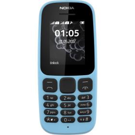 """Nokia 105 1.8"""" 73g Nero, Blu Caratteristica del telefono"""