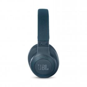 JBL E65BTNC auricolare per telefono cellulare Stereofonico Padiglione auricolare Blu Con cavo e senza cavo