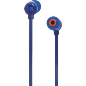 JBL T110BT Auricolare Stereofonico Senza fili Blu auricolare per telefono cellulare