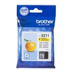 Brother LC-3211Y 200pagine Giallo cartuccia d'inchiostro