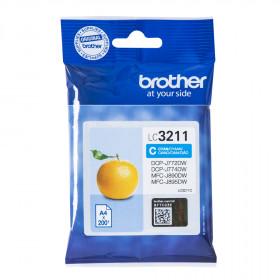 Brother LC-3211C 200pagine Ciano cartuccia d'inchiostro