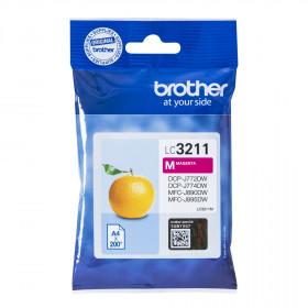 Brother LC-3211M 200pagine Magenta cartuccia d'inchiostro