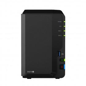 Synology DiskStation DS218+ server NAS e di archiviazione Collegamento ethernet LAN Compatta Nero