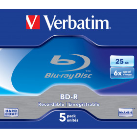 Verbatim 43715 disco vergine Blu-Ray BD-R 25 GB 5 pezzo(i)