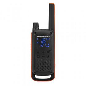 Motorola Talkabout T82 ricetrasmittente 16 canali 446 - 446.2 MHz Nero, Arancione