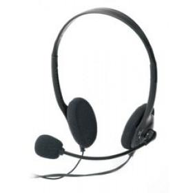 Ednet Headset auricolare per telefono cellulare Stereofonico Nero