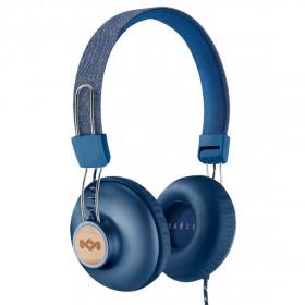 The House Of Marley POSITIVE VIBRATION 2 Padiglione auricolare Stereofonico Cablato Blu auricolare per telefono cellulare