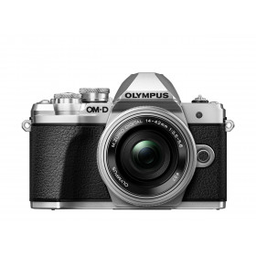 "Olympus OM-D E-M10 Mark III Corpo MILC 16.1MP 4/3"" Live MOS 4608 x 3456Pixel Nero, Argento"