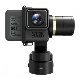 FeiYu-Tech WG2 Sport action camera stabilizer Nero stabilizzatore per macchina fotografica