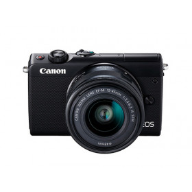 Canon EOS M100 Kit fotocamere SLR 24,2 MP CMOS 6000 x 4000 Pixel Nero