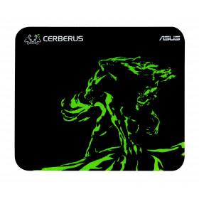ASUS Cerberus Mat Mini Nero, Verde Tappetino per mouse per gioco da computer