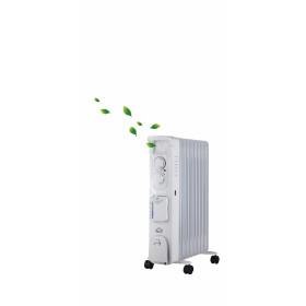 DCG Eltronic RAU3809 stufetta elettrica Interno Bianco 2000 W
