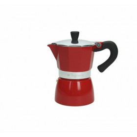 Tognana Porcellane Coffee Star Color 3 Tazze Rossa