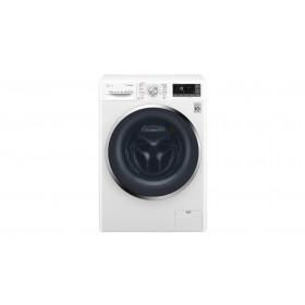 LG F4J8FH2W lavasciuga Caricamento frontale Libera installazione Nero, Bianco A