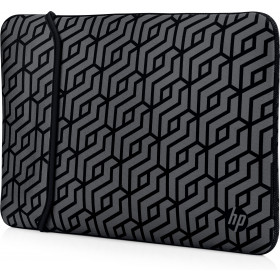 "HP Reversible Neoprene Sleeve borsa per notebook 35,6 cm (14"") Custodia a tasca Nero, Grigio"
