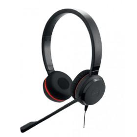 Jabra Evolve 20SE UC Stereo Stereofonico Padiglione auricolare Nero