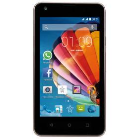 "Mediacom PhonePad Duo G415 10,2 cm (4"") 0,512 GB 4 GB Doppia SIM Nero, Oro 1400 mAh"