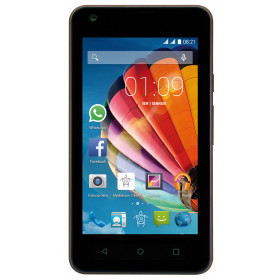 "Mediacom PhonePad Duo G415 10,2 cm (4"") 0,512 GB 4 GB Doppia SIM Nero, Grigio 1400 mAh"