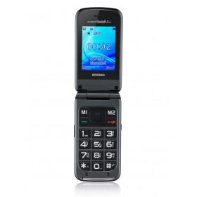 """Brondi Amico Grande 2 LCD 6,1 cm (2.4"""") Titanio Telefono cellulare basico"""