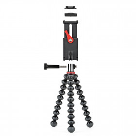 Joby GripTight Action Kit treppiede Action camera 3 gamba/gambe Nero, Rosso