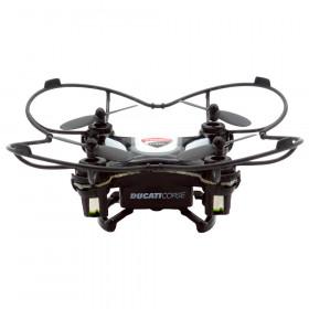 Dromocopter Ducati Corse 4rotori 120mAh Nero drone fotocamera