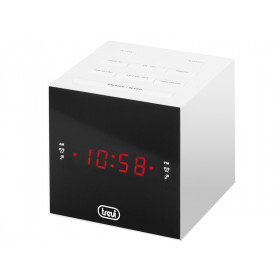 Trevi RC 855 C radio Orologio Digitale Bianco