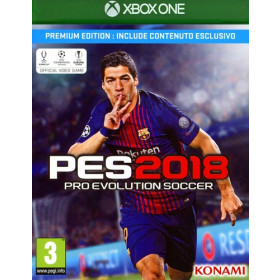 Konami Pro Evolution Soccer 2018 Premium Edition