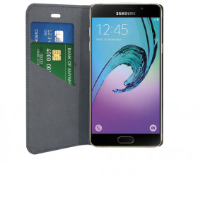 Phonix Custodia a Libro in Ecopelle per Samsung Galaxy A5 (2017) - Nera