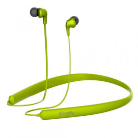 Celly BHNECKGN auricolare per telefono cellulare Stereofonico Auricolare, Passanuca Verde