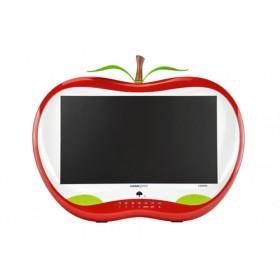 "Hannspree HA 195 HPR LED display 47 cm (18.5"") WXGA LCD Opaco Rosso, Bianco"