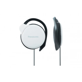 Panasonic RP-HS46E-W Nero, Bianco Circumaurale cuffia