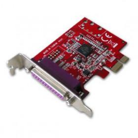 Lindy 1-Port PCIe Parallel Card scheda di interfaccia e adattatore
