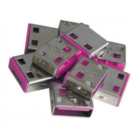 Lindy USB Port Blocker - Pack 10 sistema di sicurezza e controllo