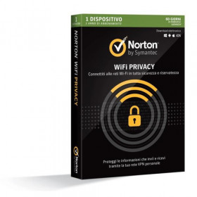 Symantec Norton WiFi Privacy 1license(s) ITA