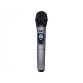 Trevi EM 401 Microfono per palco/spettacolo Senza fili Nero, Grigio