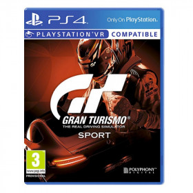 Sony Gran Turismo Sport videogioco PlayStation 4 Basic Arabo, Tedesca, DUT, Inglese, ESP, Francese, ITA, Giapponese, Polacco, Portoghese, Russo, Turco