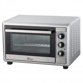 Ardes Gustavo AR6225S fornetto con tostapane 25 L Nero, Argento Grill 1500 W