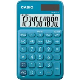 Casio SL-310UC-BU Tasca Calcolatrice di base Blu calcolatrice