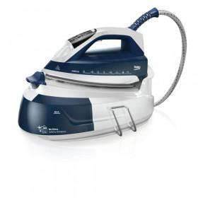 Beko SGA7124B ferro da stiro a caldaia 2400 W 1 L Ceramica Blu, Bianco