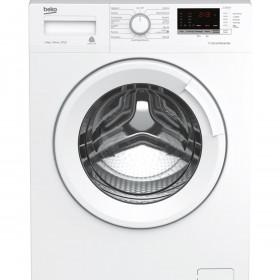 Beko WTX81232WI lavatrice Libera installazione Caricamento frontale Bianco 8 kg 1200 Giri/min A+++-10%