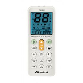 Meliconi AC 100 RF Wireless Premi i pulsanti Bianco telecomando