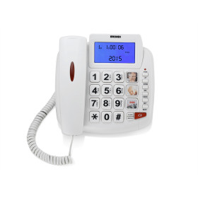 Brondi Bravo 90 Telefono analogico Identificatore di chiamata Bianco