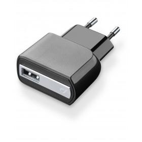 Cellularline Usb Charger - Universale caricabatterie da rete USB Nero
