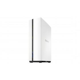 QNAP TS-128A server NAS e di archiviazione Collegamento ethernet LAN Mini Tower Bianco