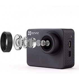Ezviz S2 Dual Mode Sport & Dash Camera, Full HD, 8 MP, WiFi, BLE 4.0, supporta MicroSD fino a 256GB