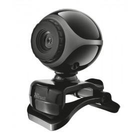Trust Exis webcam 0,3 MP 640 x 480 Pixel USB 2.0 Nero